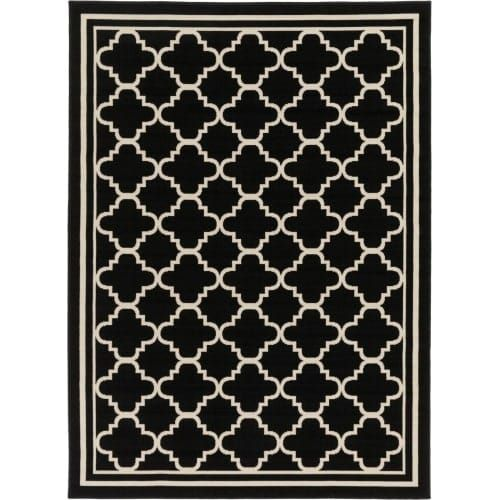 Surya MRN3011-5373 Marina 5' x 7' Rectangle Synthetic Power Loomed Geometric Out