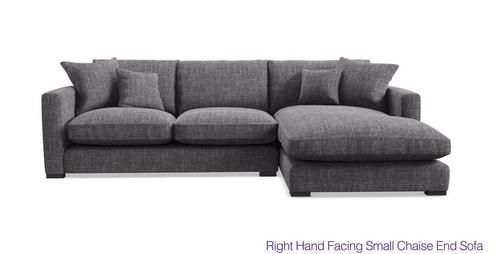 Dillon Right Hand Facing Small Chaise End Sofa Dillon | DFS Ireland