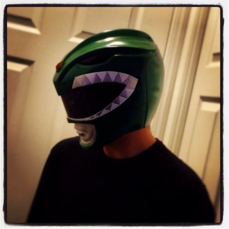 My Green Ranger Helmet