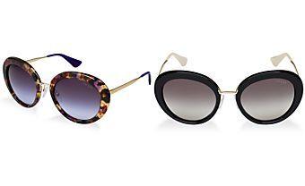 Prada Sunglasses, PRADA PR 16QS 55