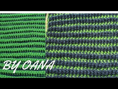 Tunisian Knit Stitch In The Round : 64 best images about VIDEO TUTORIAL PUNTI TUNISINI on Pinterest Cable, Knit...
