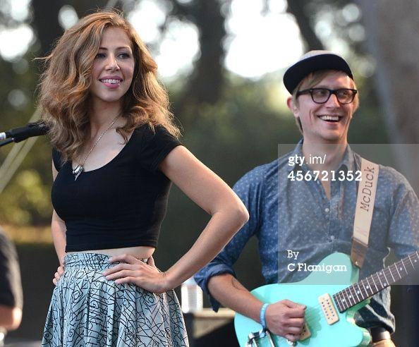 News Photo : Mike Olson and Rachael Price of Lake Street Dive...