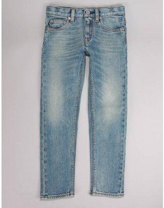 Stone Island Junior Light Blue Light wash skinny jeans