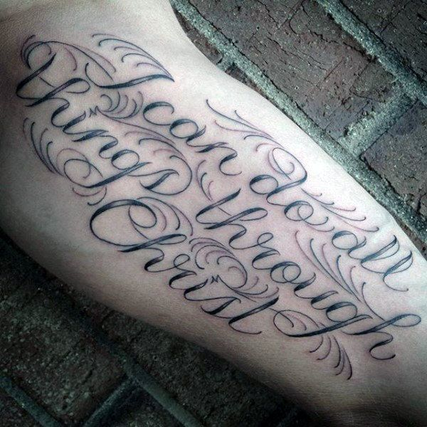 40 Philippians 4 13 Tattoo Designs For Men: 81 Best Mi Tats Images On Pinterest