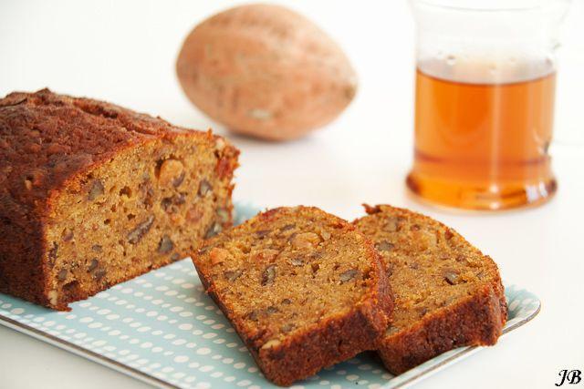 Carolines blog: Cake van zoete aardappel met pecannoten (extra toevoegen aan recept flinke theelepel baking soda)