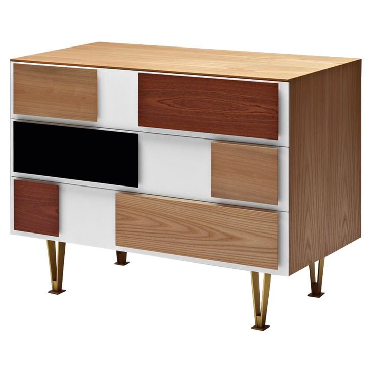 Gio Ponti Small Chest of Drawers - shape inspiration?
