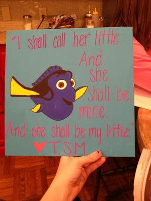 Bowtiful Life: Pre-Big/Little Week would so do this for my little sis if i get one
