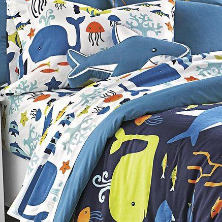 Kids Ocean Bedding Whole Home Kids Tm Mc Sea Creatures Sheet Set