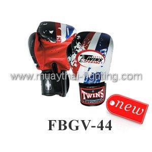 New Twins Special Fancy Boxing Gloves United States Flag FBGV-44TH