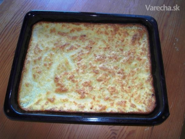 Pečená zemiaková kaša (fotorecept)