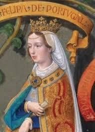 Philippa of Lancaster, Queen of Portugal..Mother of the great explorer, Henry The Navigator. Dau. of John of Gaunt.