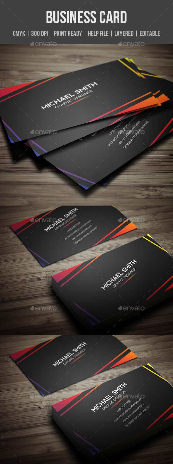 Best 25 business card design templates ideas on pinterest personal business card magicingreecefo Choice Image
