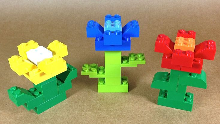 How To Build Lego FLOWERS - 4630 LEGO® Build & Play Box Building ...