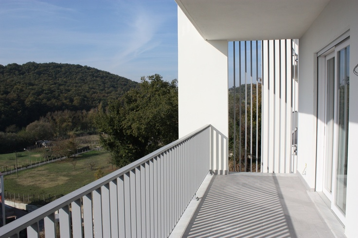 2012 - Complesso Residenziale Qube | Qube Houses - Infissi scorrevoli Finstral | Finstral sliding windows
