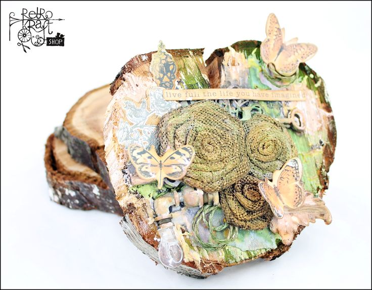Na pieńku / On a stump http://www.retrokraftshop.pl/pl/81-juta-retro-kraft