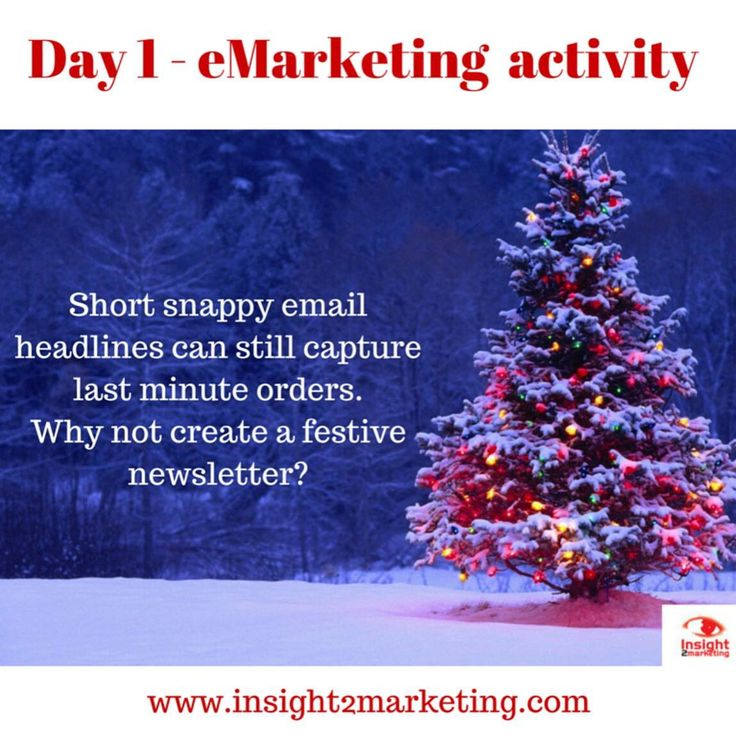 Marketing tips  www.facebook.com/insight2marketing   Ps - make sure they've opted in for emails and give them an option to unsubscribe too   #festive #marketing #email #digital #social #ebulletin #emailmarketing #online #branding