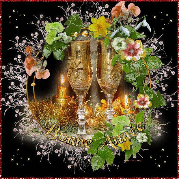 Fete bonne annee creas mamietitine happy new year bonne ann e pinterest - Belles images bonne annee ...