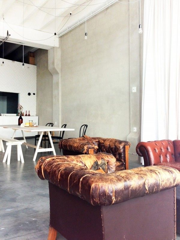 The Organic Oil Company's new offices - emmas designblogg