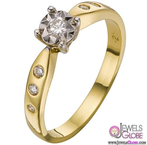 Unlike the platinum and white gold options, the yellow gold engagement rings for women have a timeless, simple appeal. Aside from that, the gold diamond engagement rings are known to exude a subtle glow and warmth. This is the reason why the yellow gold is a gorgeous metal when set against the dazzling diamond.