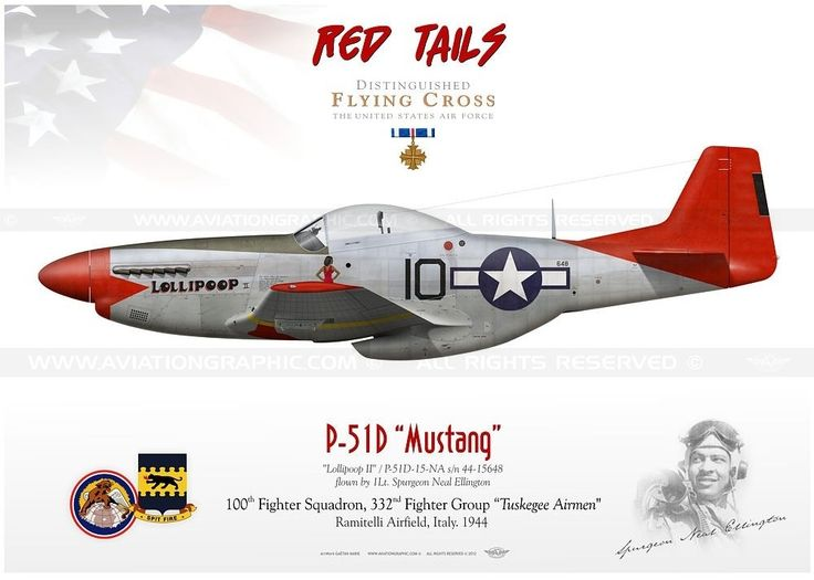 FMS P51 Mustang Red Tail RC Airplane 6CH 1700mm 669