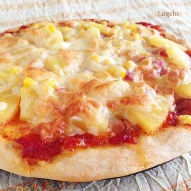 パイナップル ピザ レシピ