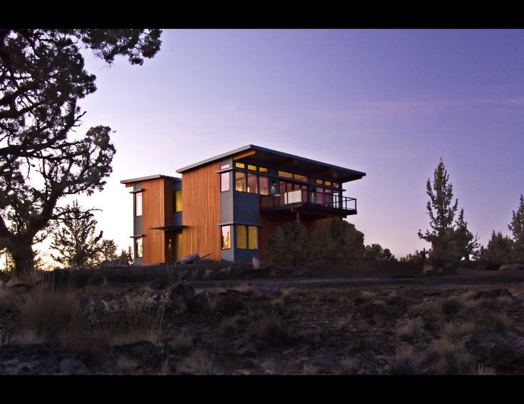 stillwater dwellings Bend, OR - like the palatte: House Exteriors, Modern Prefab Homes, Bend, Contemporary Exteriors, Architecture, Landscape, Stillwater Dwellings, Photo, Design