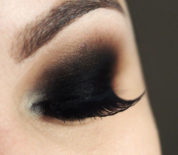 Tutorial – maquiagem olho preto esfumado