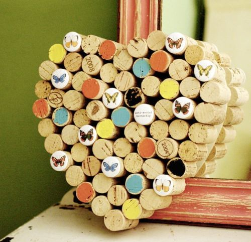 """this could be cool....like the """"cork cake"""" as something for guests to pin a note on as a guestbook"""