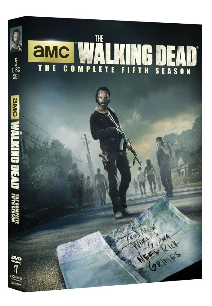 The Walking Dead Season 5 Dvd And Blu Ray Release Details