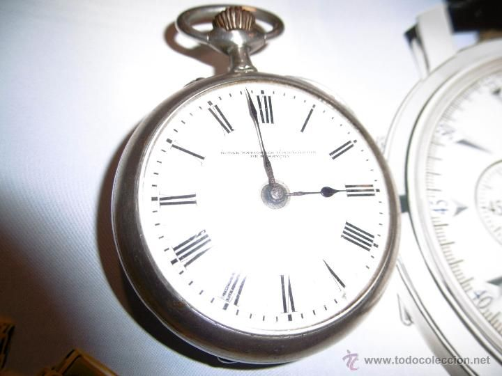 Relojes de bolsillo: OPORTUNIDAD DE TENER UNA PIEZA HISTORICA VACHERON CONSTANTIN RELOJ BOLSILLO PLATA NAZI - Foto 3 - 53099423