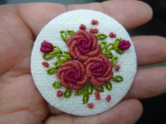 Check out this item in my Etsy shop https://www.etsy.com/listing/240465729/marvelous-rose-brooch