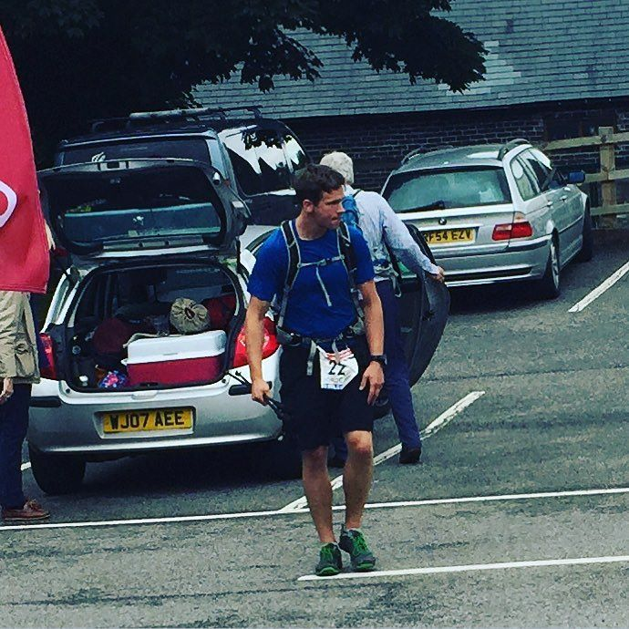 @UGB200 #UGB200 George Howard @ CP10. 103 miles.