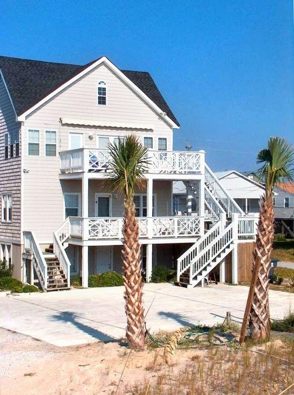 Older Cottage Carolina Beach Rental