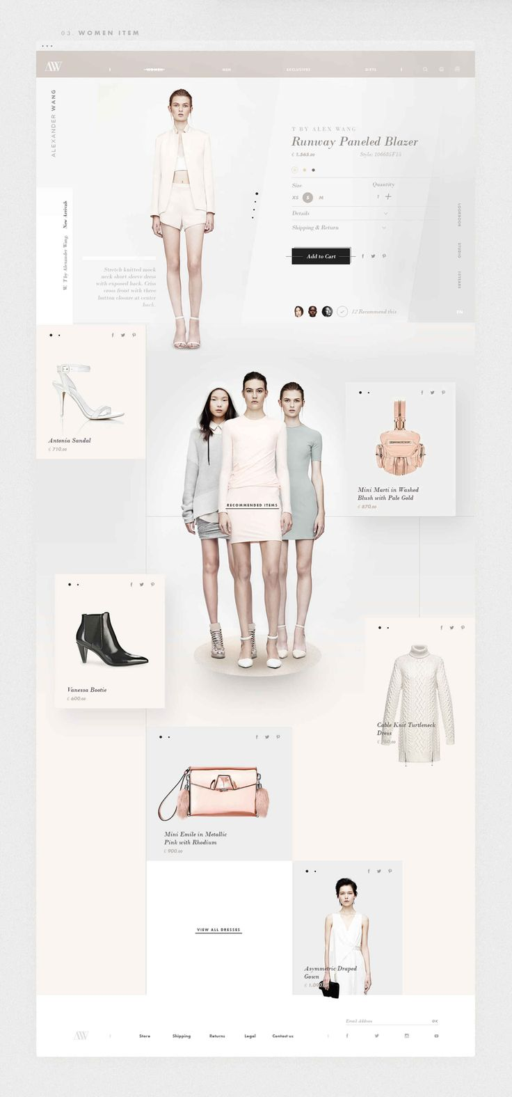 Read Alexander Wang Redesign Concept