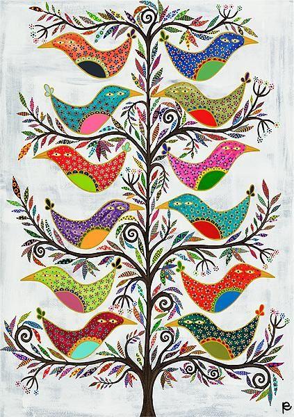 Banyan Birds by Eliza Piro