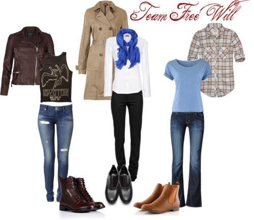 Fashion with Character: Team Free Will of the CW's 'Supernatural' | The Daily Quirk