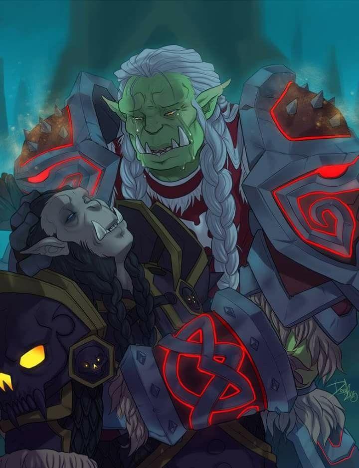 world of warcraft orc meme