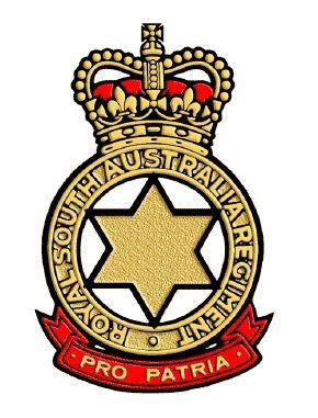 Royal South Australian Regiment.