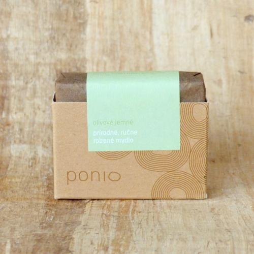 Olivové jemné mýdlo Ponio