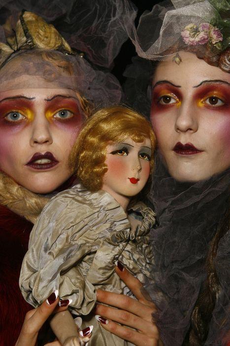 Boudoir doll makeup~galliano backstage