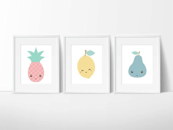 Hey, I found this really awesome Etsy listing at https://www.etsy.com/au/listing/226823834/cute-fruit-trio-lemon-pear-pineapple