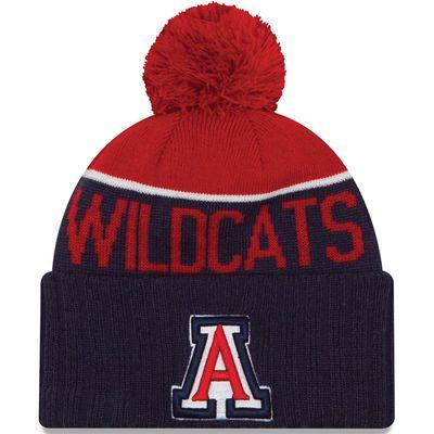 Arizona Wildcats New Era Sport Cuffed Knit Hat - Navy