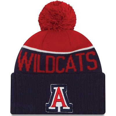 Arizona Wildcats New Era Sport Cuffed Knit Hat - Navy