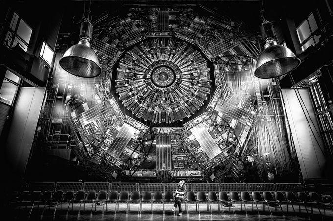 CMS Detector at CERN  Super Collider