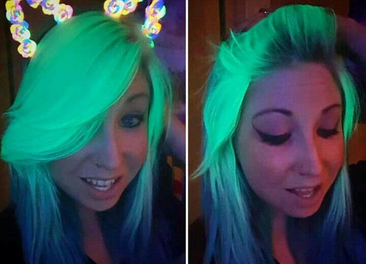 Arctic Fox Hair Color Neon Moon All The Hair