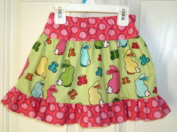 Dolly and Me Twirl Skirt  PDF Sewing patternTutorial by hrstaley, $7.00