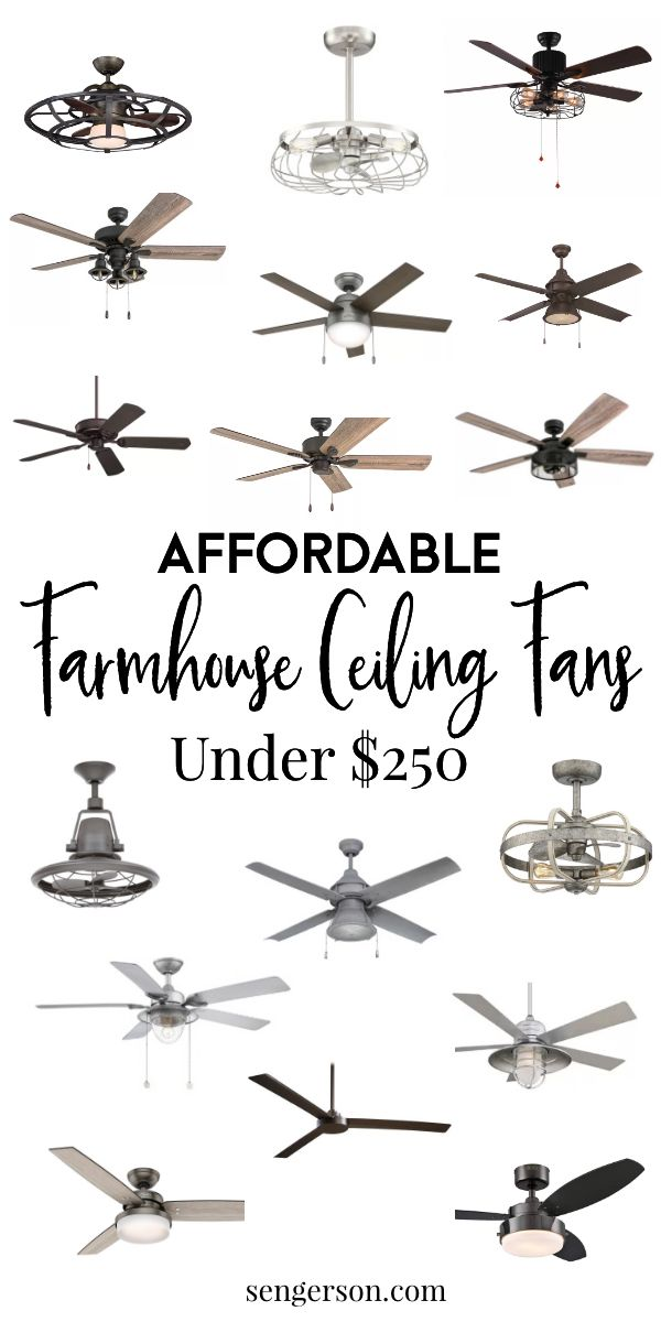 21 Gorgeous Modern Farmhouse Ceiling Fans And Best Places To Shop In 2020 Farmhouse Ceiling Fan Ceiling Fan Bedroom Ceiling Fan