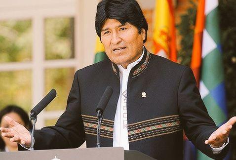 Ante amenazas del Presidente Donald Trump, El mandatario de Bolivia Evo Morales pode a México mirar al sur.