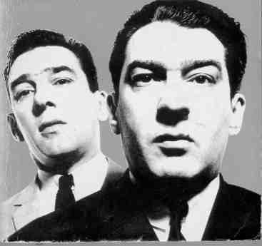 By David Bailey: the Kray twins, and Mile End's favourite sons: just fifteen minutes' walk from where I now live. Whoar, worra Liber'ee.