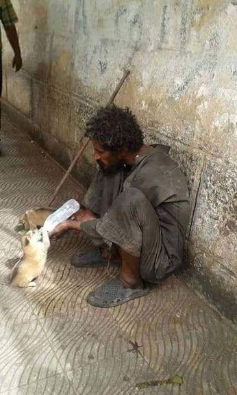 homeless but a great hart...